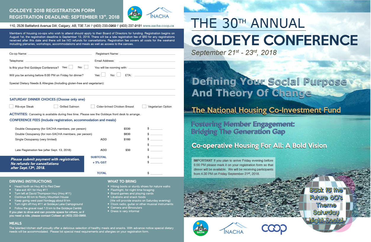 Goldeye 2018 Flyer